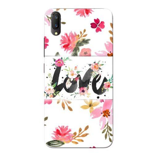 Flower Love Vivo V11 Pro Mobile Cover
