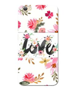 Flower Love Vivo V5s Mobile Cover