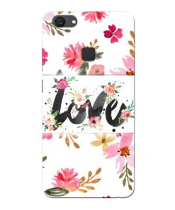 Flower Love Vivo V7 Plus Mobile Cover