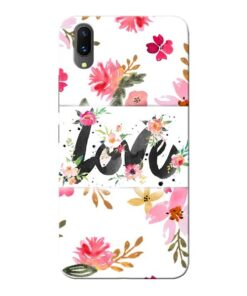 Flower Love Vivo X21 Mobile Cover