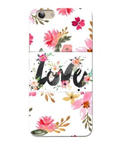 Flower Love Vivo Y53i Mobile Cover