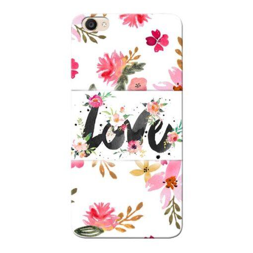 Flower Love Vivo Y55s Mobile Cover