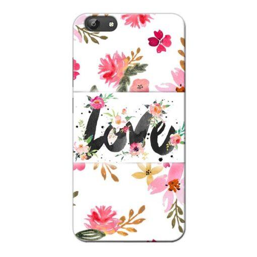 Flower Love Vivo Y66 Mobile Cover