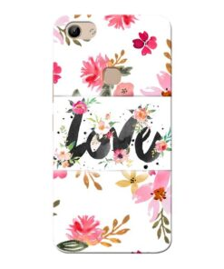Flower Love Vivo Y81 Mobile Cover