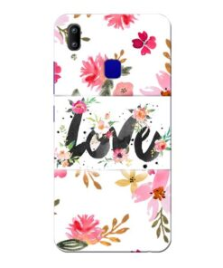 Flower Love Vivo Y91 Mobile Cover