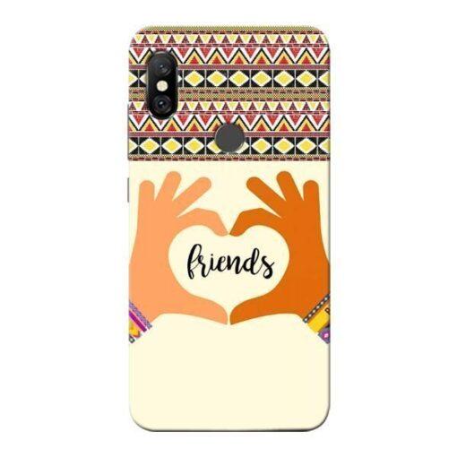 Friendship Redmi Note 6 Pro Mobile Cover