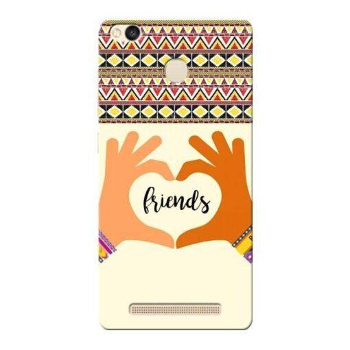 Friendship Xiaomi Redmi 3s Prime Mobile Cover
