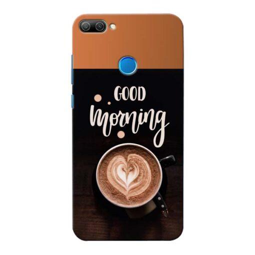 Good Morning Honor 9N Mobile Cover