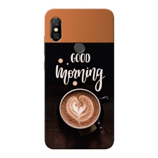 Good Morning Redmi Note 6 Pro Mobile Cover