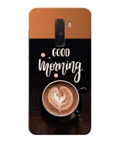 Good Morning Xiaomi Poco F1 Mobile Cover
