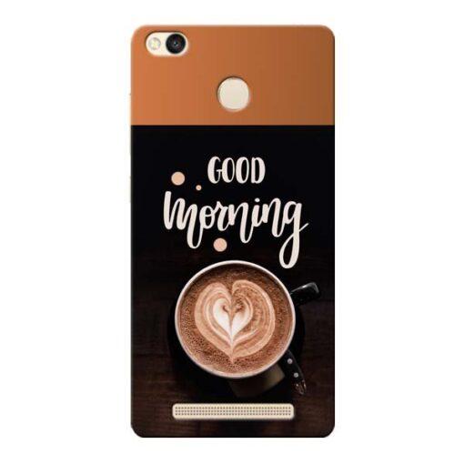 Good Morning Xiaomi Redmi 3s Prime Mobile Cover