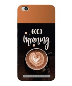 Good Morning Xiaomi Redmi 5A Mobile Cover