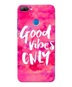 Good Vibes Honor 9N Mobile Cover