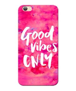 Good Vibes Vivo V5s Mobile Cover