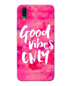 Good Vibes Vivo X21 Mobile Cover