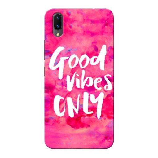 Good Vibes Vivo X21 Mobile Cover