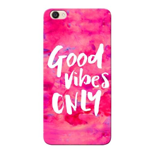 Good Vibes Vivo Y55s Mobile Cover