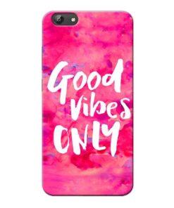 Good Vibes Vivo Y69 Mobile Cover