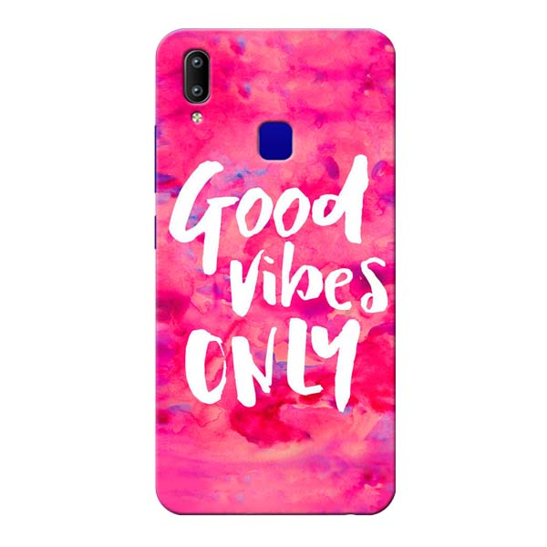 Good Vibes Vivo Y91 Mobile Cover