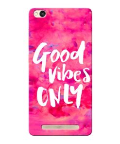 Good Vibes Xiaomi Redmi 3s Mobile Cover