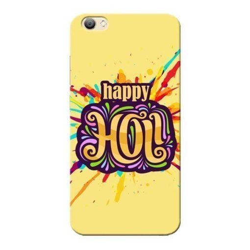 Happy Holi Vivo V5s Mobile Cover