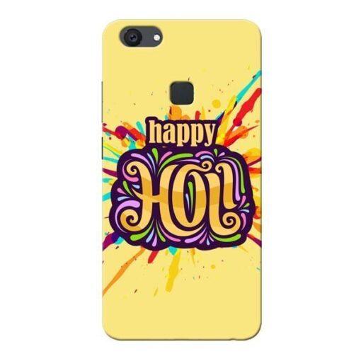 Happy Holi Vivo V7 Plus Mobile Cover