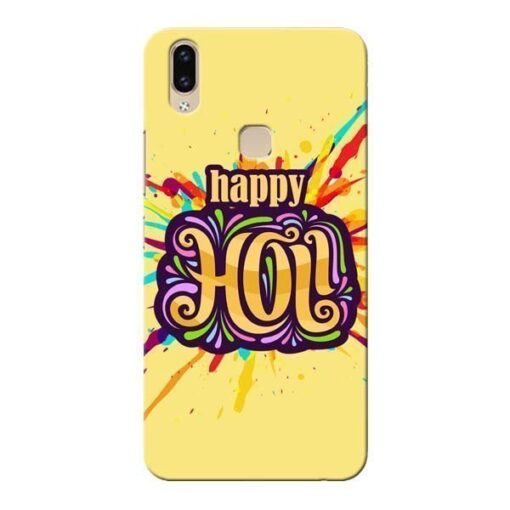 Happy Holi Vivo V9 Mobile Cover