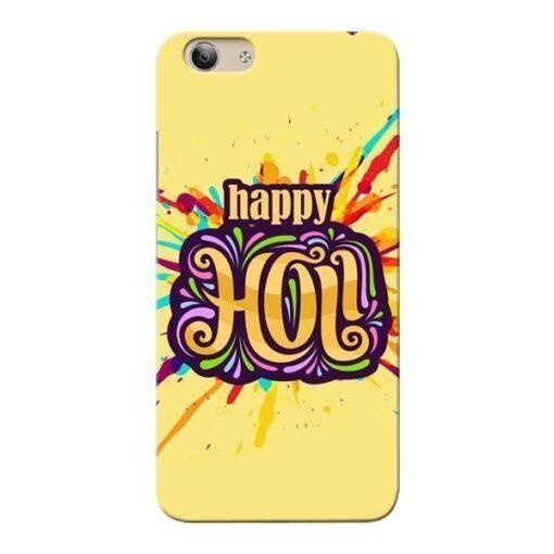 Happy Holi Vivo Y53i Mobile Cover