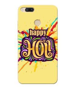 Happy Holi Xiaomi Mi A1 Mobile Cover