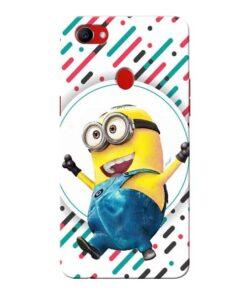 Happy Minion Oppo F7 Mobile Covers