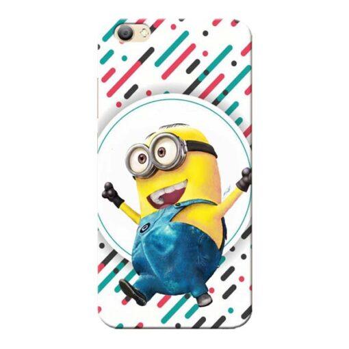 Happy Minion Vivo V5s Mobile Cover