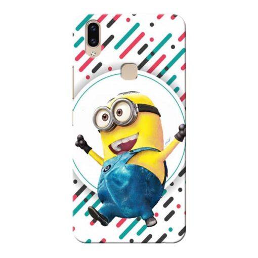 Happy Minion Vivo V9 Mobile Cover