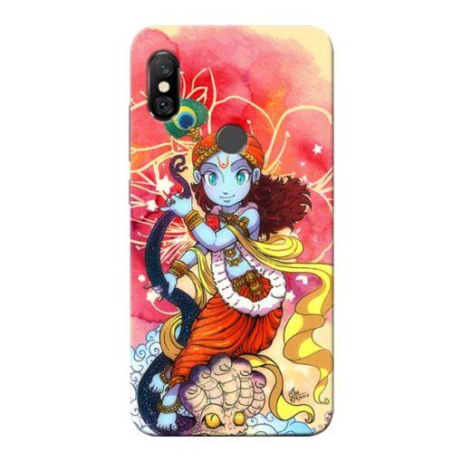 Hare Krishna Redmi Note 6 Pro Mobile Cover