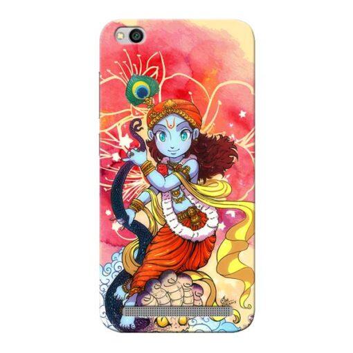 Hare Krishna Xiaomi Redmi 5A Mobile Cover