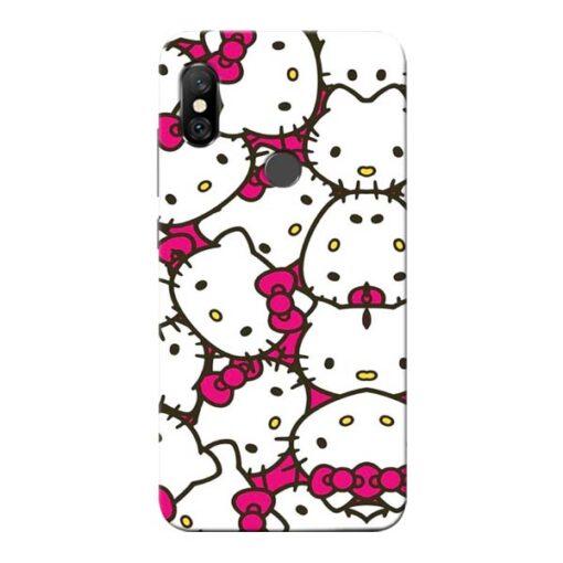Hello Kitty Redmi Note 6 Pro Mobile Cover