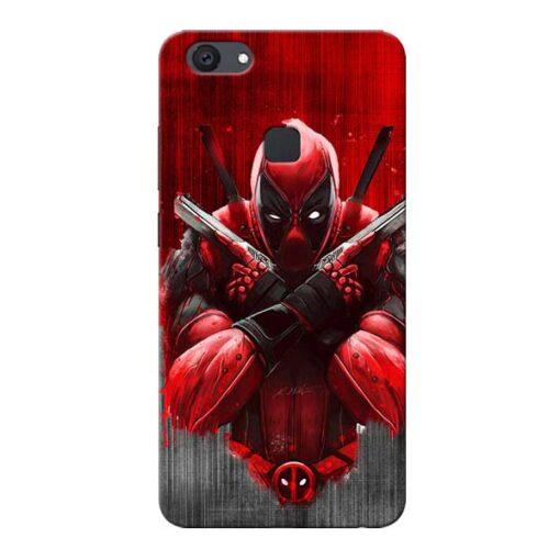 Hero Deadpool Vivo V7 Plus Mobile Cover