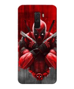 Hero Deadpool Xiaomi Poco F1 Mobile Cover