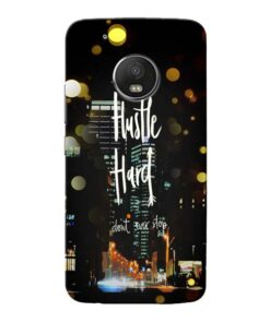 Hustle Hard Moto G5 Plus Mobile Cover