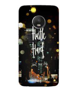 Hustle Hard Moto G5 Plus Mobile Cover