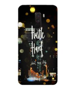 Hustle Hard Xiaomi Poco F1 Mobile Cover