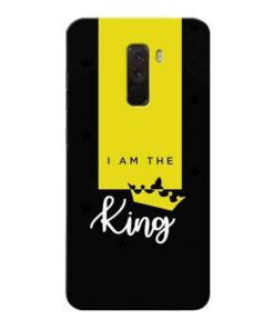 I am King Xiaomi Poco F1 Mobile Cover