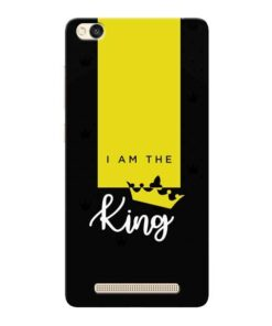 I am King Xiaomi Redmi 3s Mobile Cover
