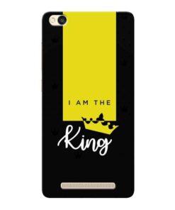 I am King Xiaomi Redmi 3s Mobile Cover