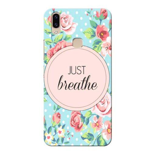 Just Breathe Vivo V9 Mobile Cover