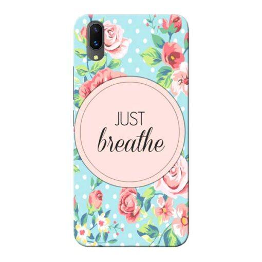 Just Breathe Vivo X21 Mobile Cover