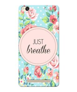 Just Breathe Xiaomi Redmi 3s Mobile Cover