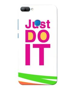 Just Do It Honor 9N Mobile Cover