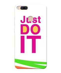Just Do It Xiaomi Mi A1 Mobile Cover