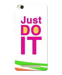 Just Do It Xiaomi Redmi 3s Mobile Cover