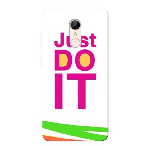 Just Do It Xiaomi Redmi 5 Mobile Cover